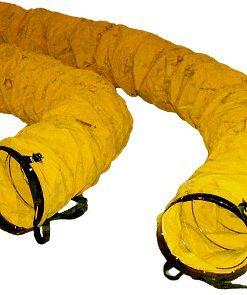 Flagro Flexible Hitex Heater Duct 16 in x 25 ft  FLAG FVD16