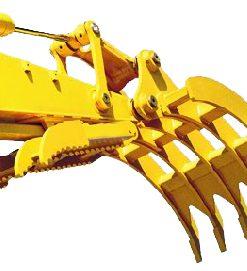 Excavator Rake for Machines 11,000 to 18,000 lbs.  SLS-SGR-1