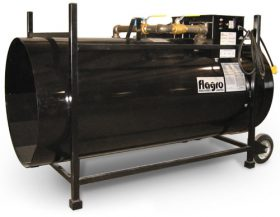 Flagro1,500,000 BTU Direct Fired Propane or Nat. Gas Heater F1500T