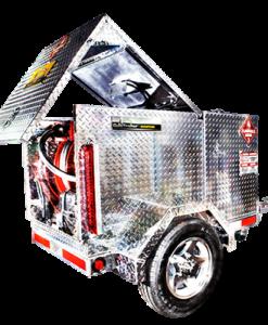 Gas Trailer Industrial Aviation Fuel Transfer Trailer 110 G Fuel GasPAFTS