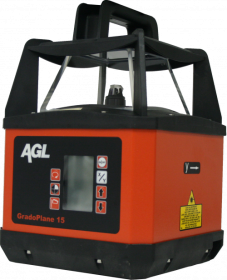 Dual Grade Laser Level Fully Self Leveling GradoPlane 15 Site