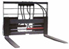 Hydraulic Pallet Fork w Moveable Tines; 4,500 lbs. Capacity; 42 in