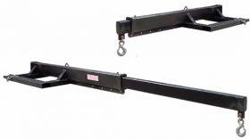 Slip-on Forks For Telehandlers & Mast Style Forklifts HAUG MIJ