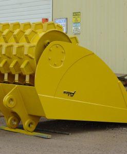 Felco Roller Compaction Bucket 24x74 Cap 1.0 Cubic Yard 234658