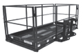 "4' x 9'8"" Quick Attach Work Platform 50 In Depth HAU 4x116 QT"