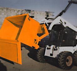 Skid Steer Easy Dumpster