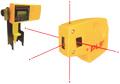 Point to Point Laser Level and Square Alignment Tool with Detector - PLS-5-S