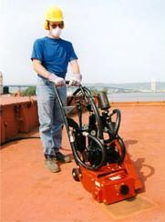 Pneumatic Motor Planer for Asphalt and Concrete GEN SP8A