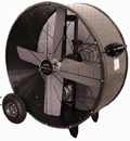 "Diamond Brite Heavy Duty Industrial Drum Fan; 36"" - PHP-3612D"
