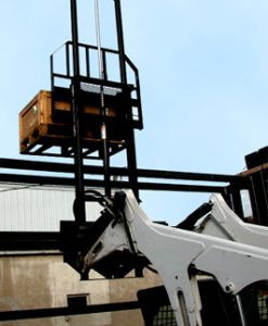 Telehandler Pallet Fork; 4,500 lbs. Capacity