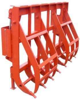 Heavy Duty Rake Grapple for Tractors 7'  VASS 393507
