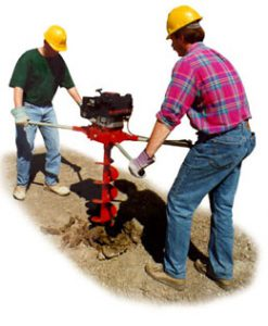 Two Man Hole Diggers