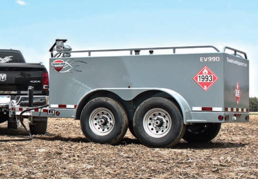 Thunder Creek Economy Fuel Trailers EV500, EV750, EV990   Equipmentland