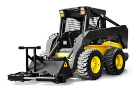 Dymax Tree Shear and Ranch Axe for Skid Steer