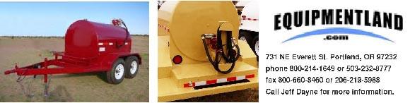 Portable tow fuel trailer