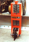 hydraulic tractor post hole digger from