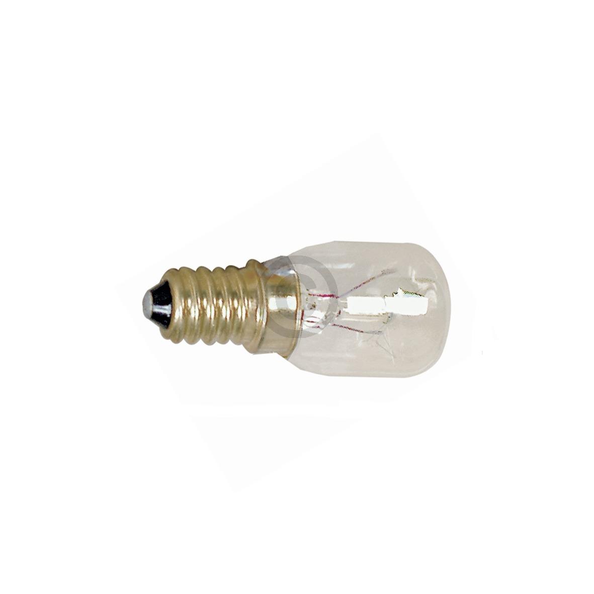 Lampe E14 15W 26mmØ 60mm 240V Universal AEG, Electrolux, Juno, Zanussi