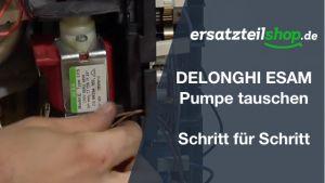 Delonghi ESAM Serie: Pumpe ausbauen - ersetzen - tauschen - einbauen