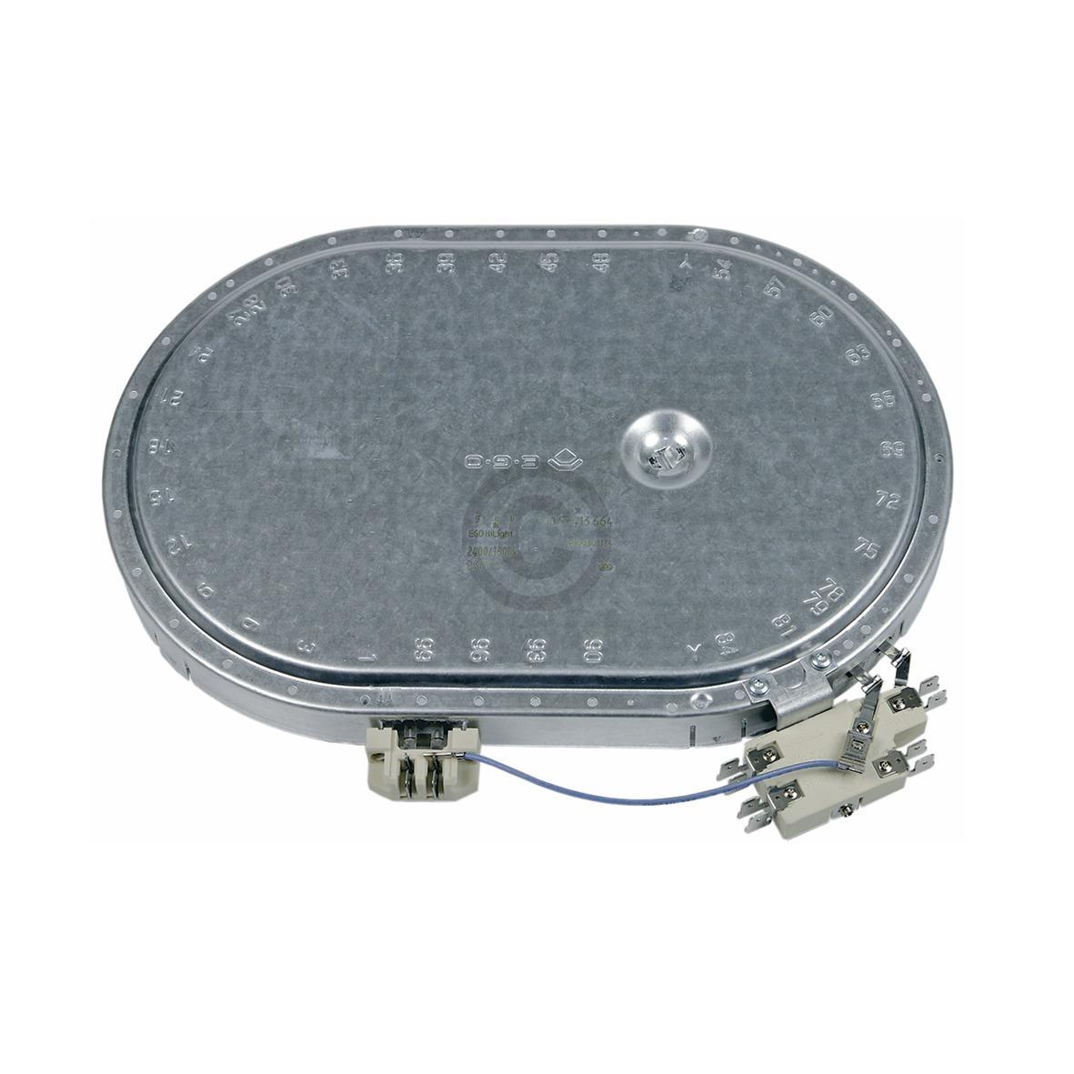 Strahlheizkörper 260x165mm 2400/1600W 230V oval, OT! NF! 00670016 670016 Bosch,