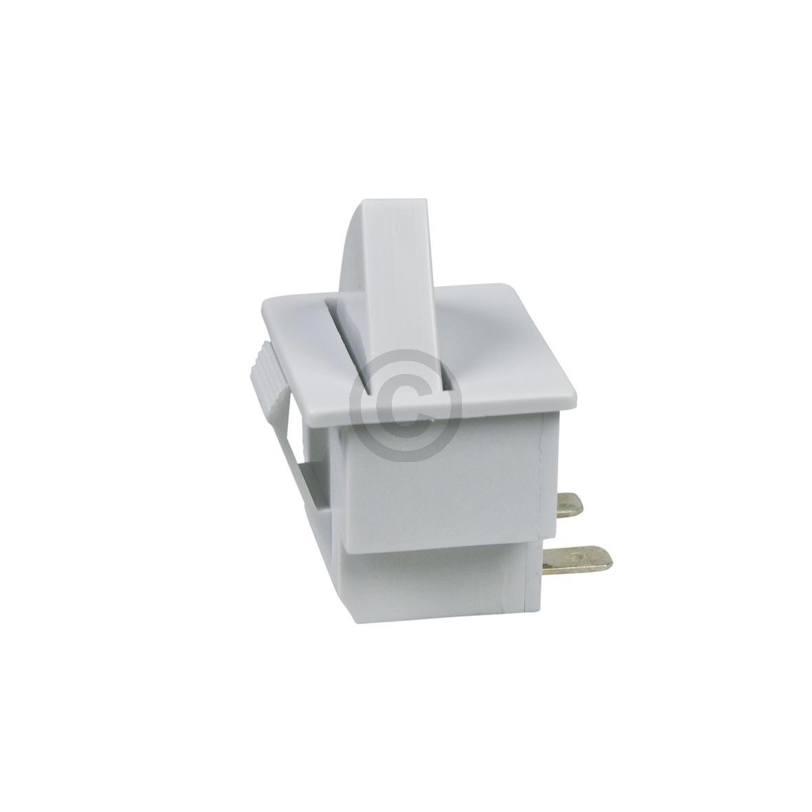 Tastenschalter Lichtschalter Whirlpool 481010398859 für Kühl-Gefrier-Kombination