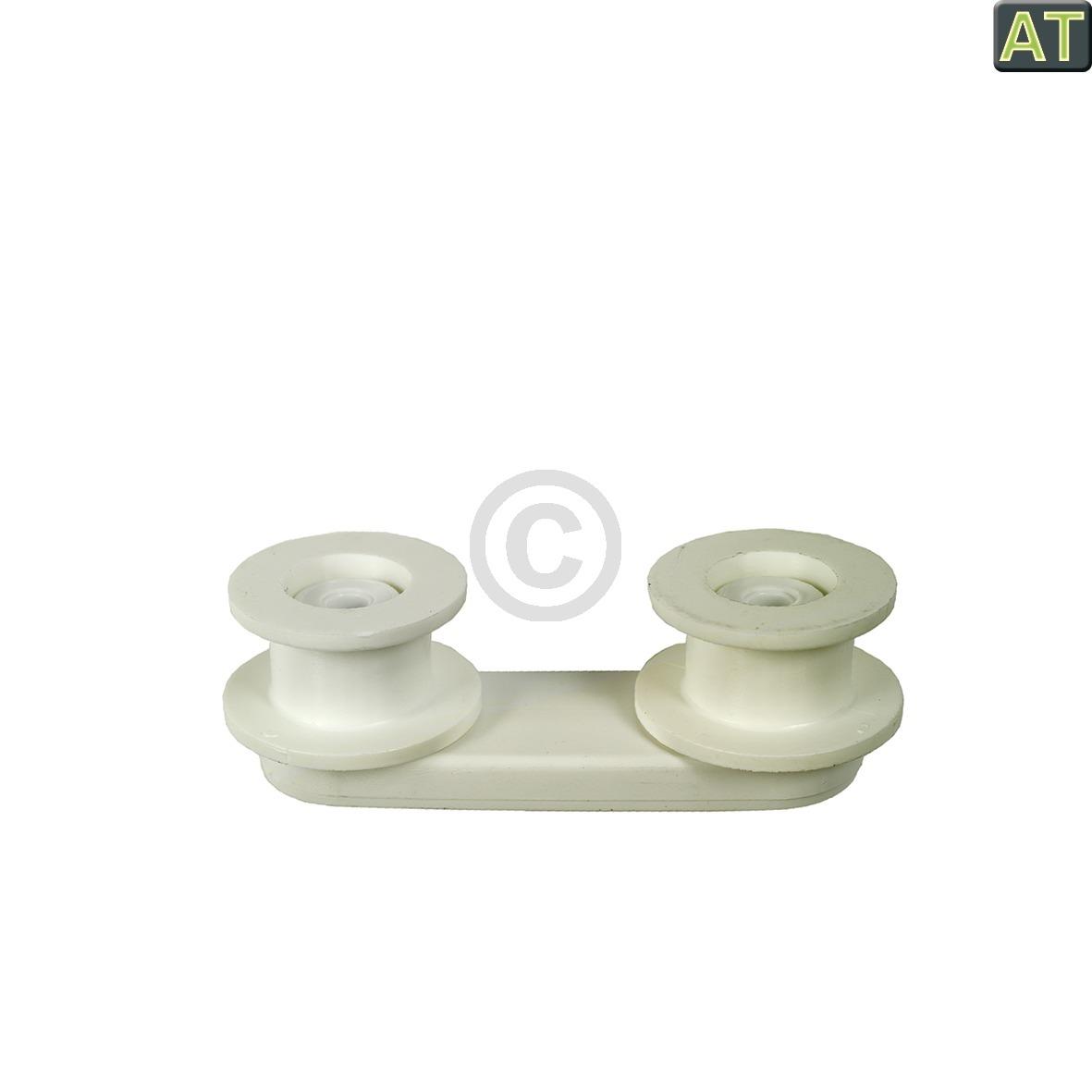 Korbrollen mit Halter wie Electrolux 5022681900/6 für Geschirrspüler