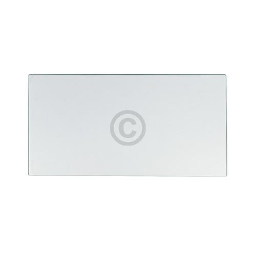 Glasplatte Bosch 00440583 433x230mm für Gemüsefach Kühlschrank