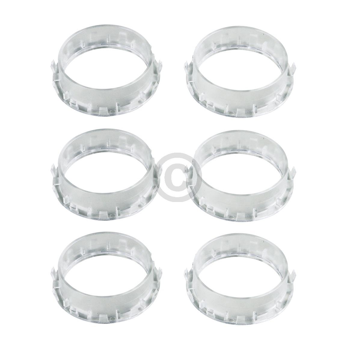 Knebelring Schaltergriffschutz, 6 Stück 00612104 612104 Bosch, Siemens, Neff