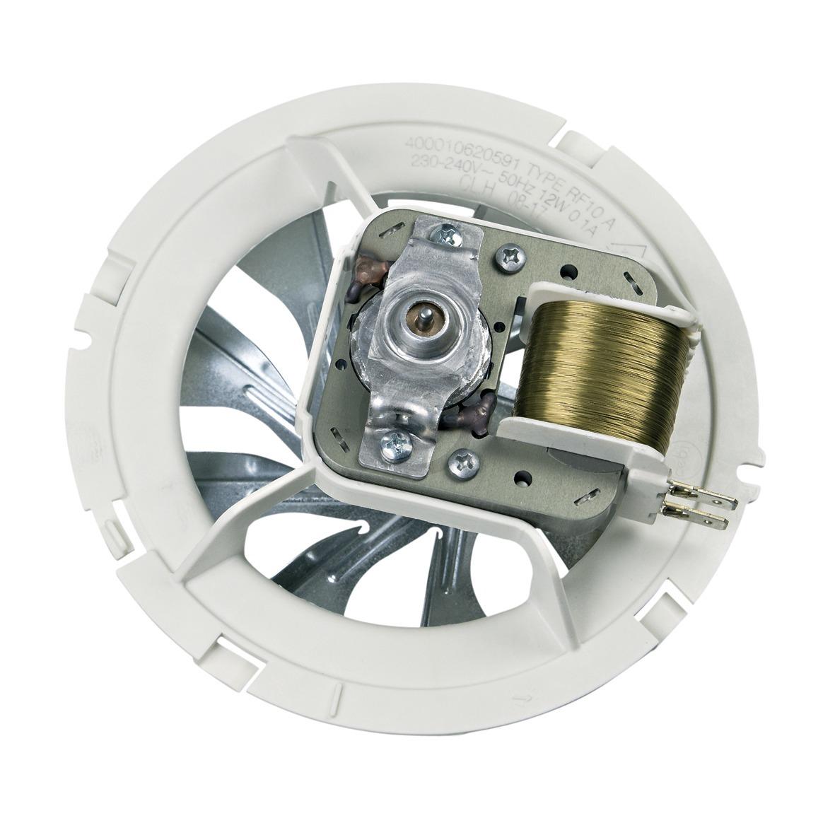 Heißluftherdventilator kpl. 480121103444 Indesit Hotpoint, Bauknecht, Whirlpool,