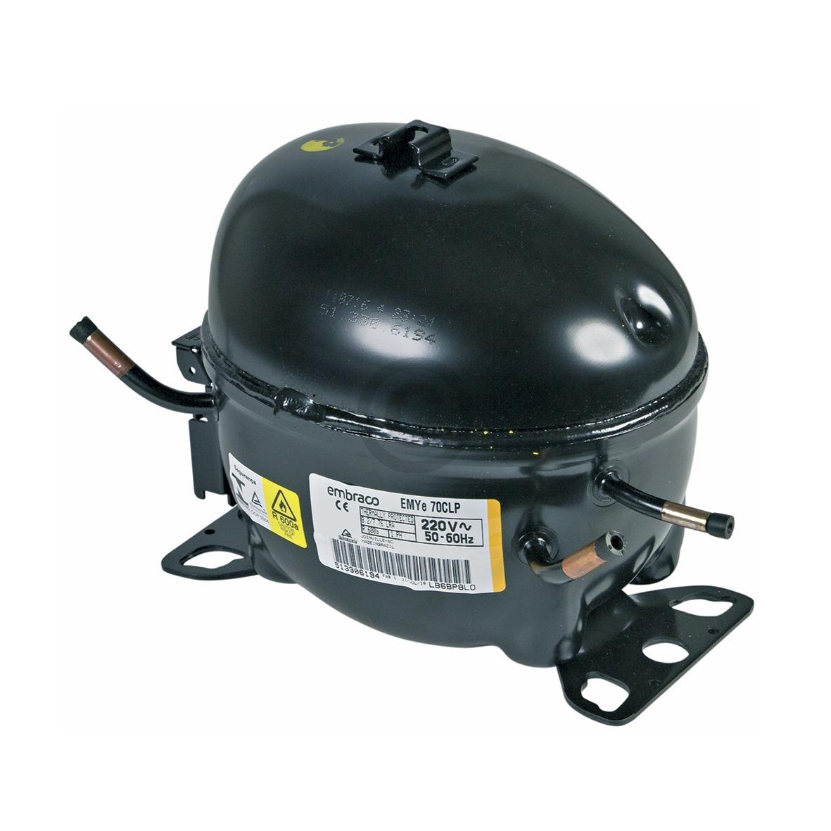 Kompressor für R600A 1/5PS 481236039073 Bauknecht, Whirlpool, Ikea, Liebherr