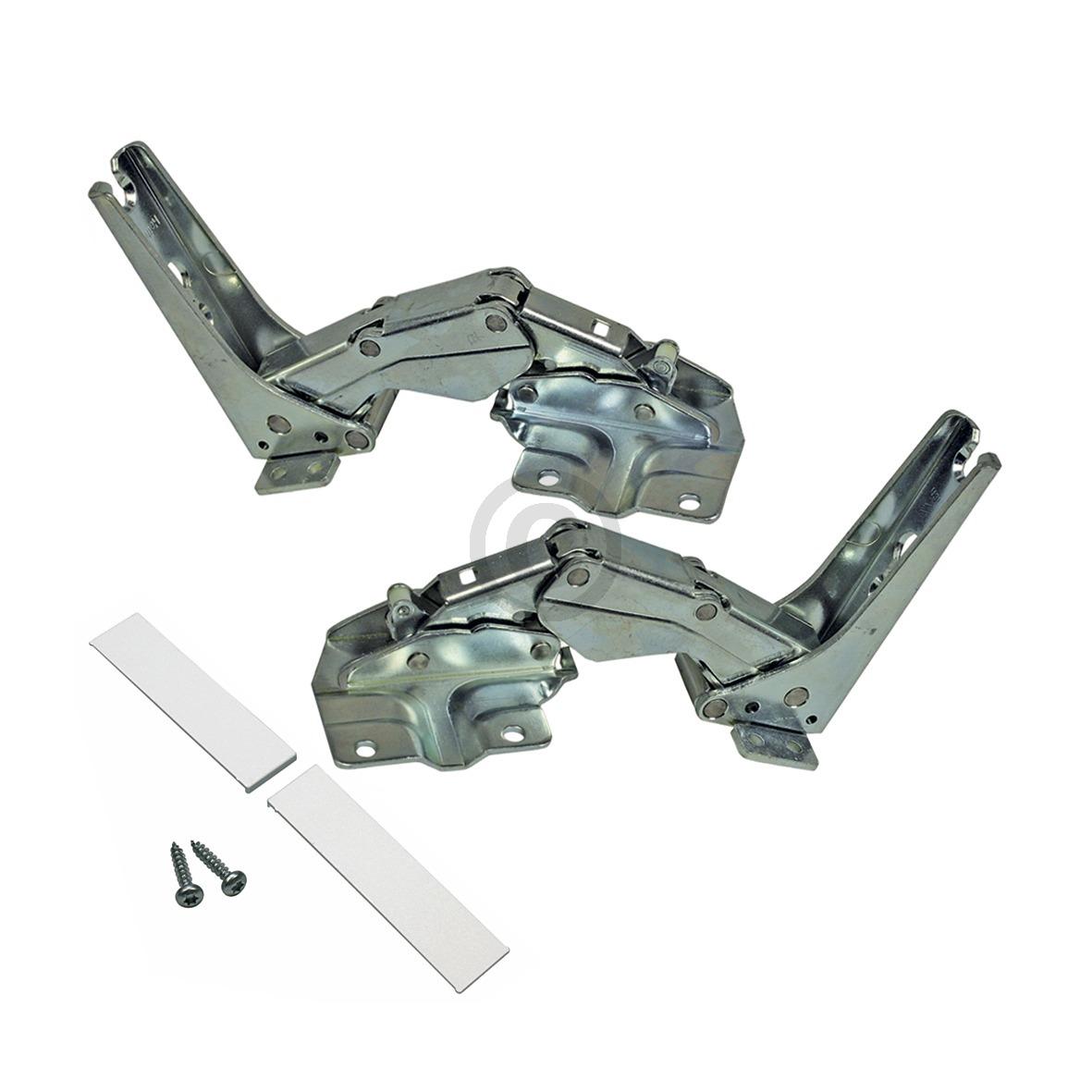 Kühlschrank-Scharnier Reparatursatz 00481147 - 2 Stück - oben und unten -