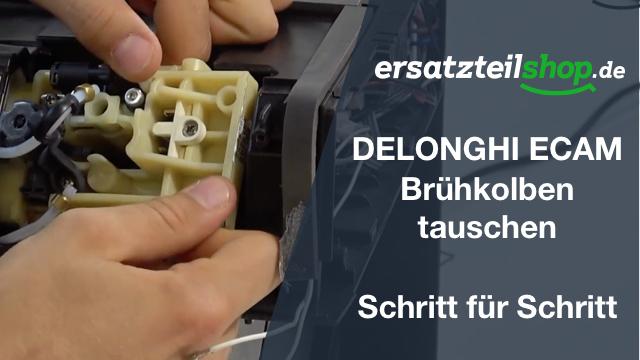 DeLonghi ECAM Brühkolben - ausbauen - tauschen