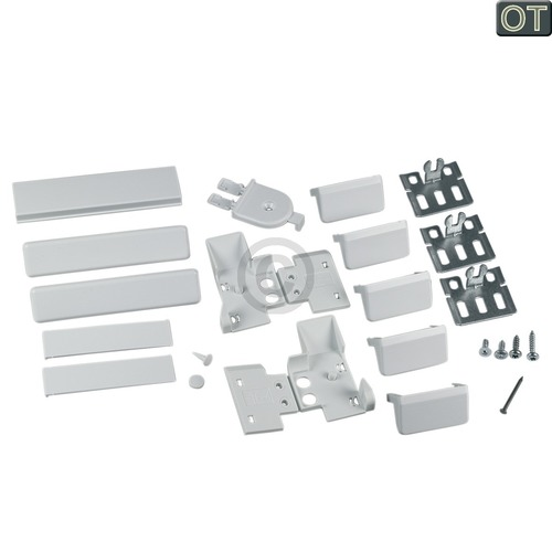 Befestigungssatz Flachscharnier 00491368 491368 Bosch, Siemens, Neff