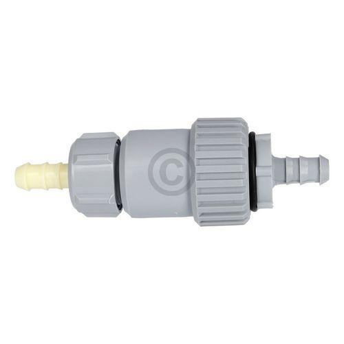 Rückflussverhinderer für Ablaufschlauch 12mmØ Kondenstrockner an Siphon