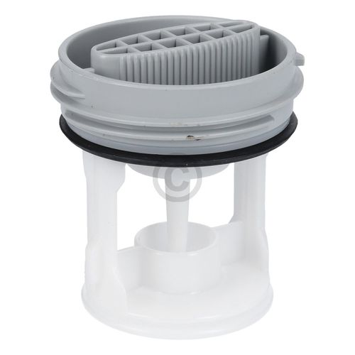 Flusensiebeinsatz Whirlpool 481010506380 Pumpenfilter für Waschmaschine