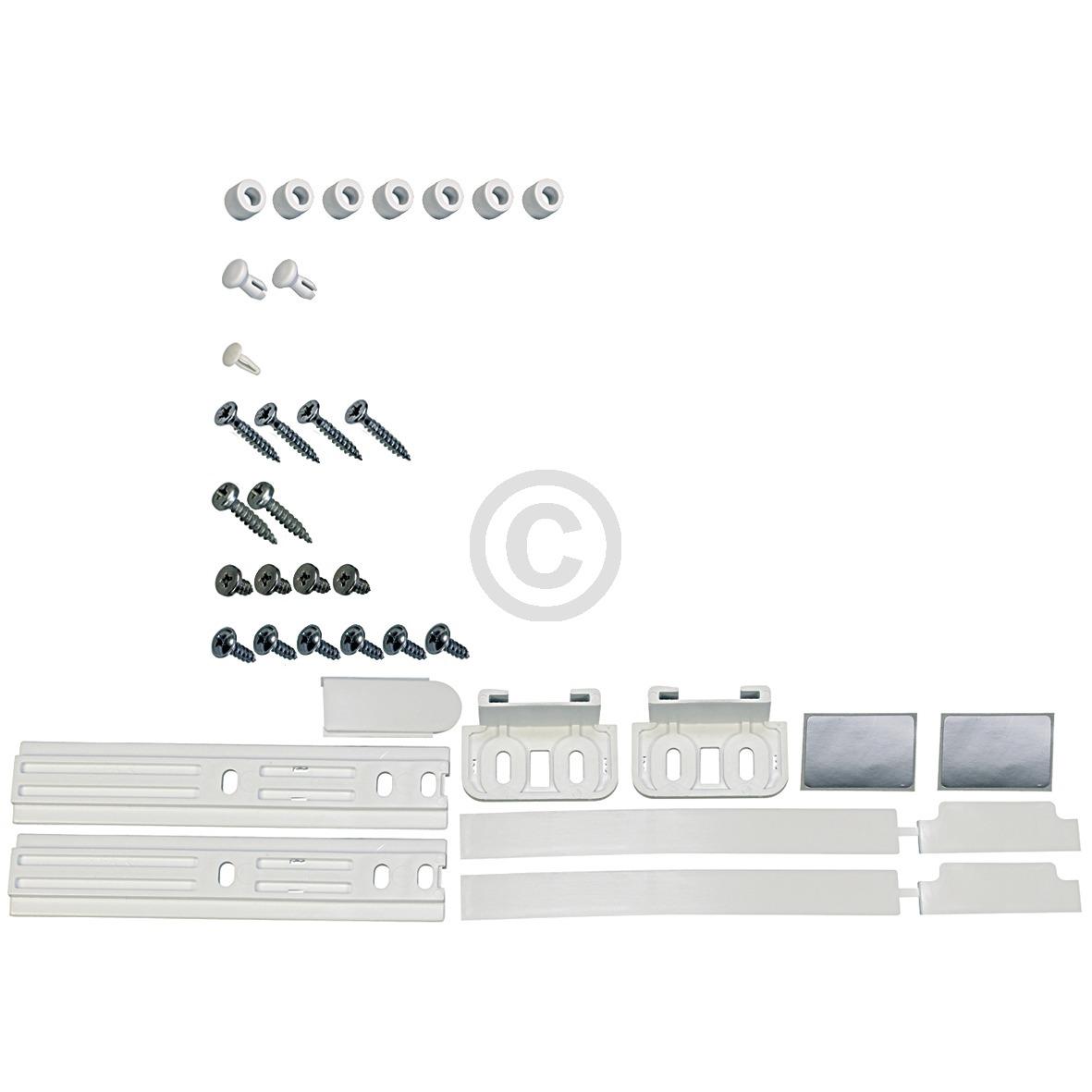 Türwechselset / Führungskit für Schlepptürtechnik 481231028208 Bauknecht, Whirlp