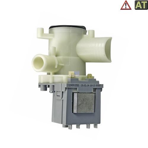 Ablaufpumpe wie Bosch 00141124 Askoll mit Pumpenkopf und Sieb für Waschmaschine