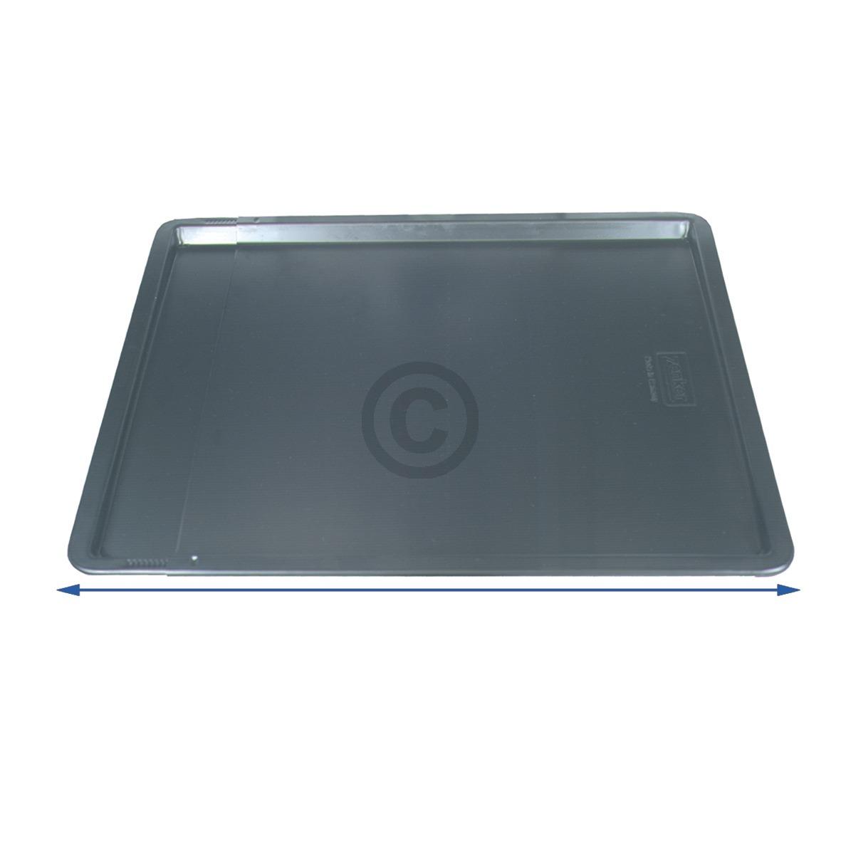 Backblech ausziehbar 375-520x335mm 13mm hoch antihaft, Universal!