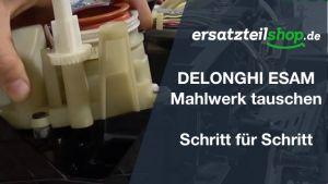 DeLonghi ESAM Mahlwerk - ausbauen - ersetzen - tauschen - einbauen