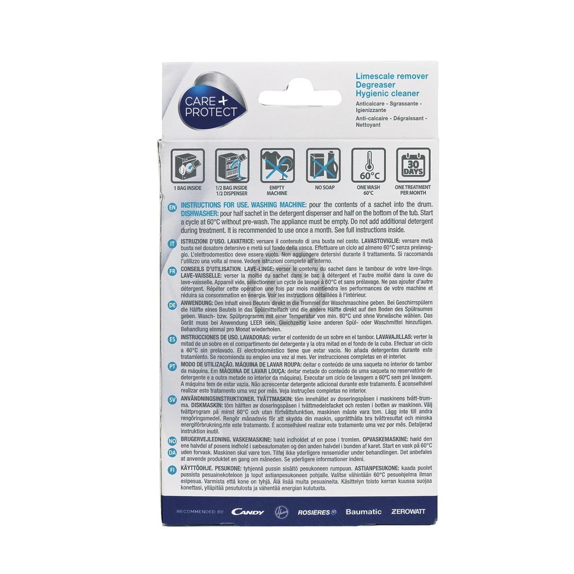 Maschinen-Reiniger Candy 35601769 CDP1004 Care+Protect für Waschmaschine