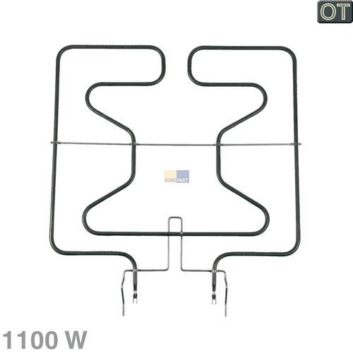 Heizelement Unterhitze 1100W 230V 00470763 470763 Bosch, Siemens, Neff