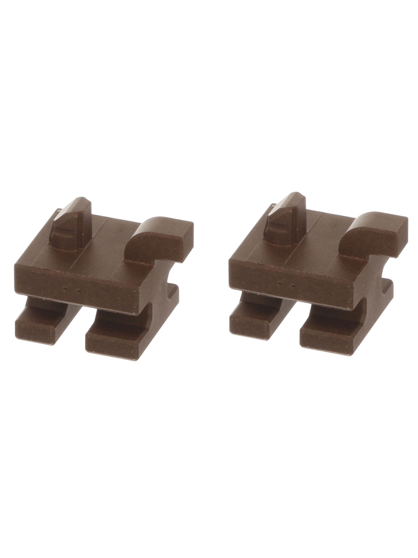 Buchse Siemens 00637444 Keramikhalter hinten für Zubehörhaltegitter Backofen