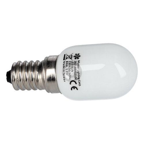 Lampe E14 15W Liebherr 6070001 25mmØ 57mm 230-240V Röhrenlampe für Kühlschrank