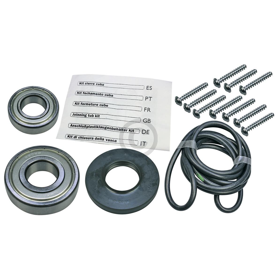 Lagersatz Bosch 00172686 Original Wellendichtung 35x72x10/12 mit Kugellagern