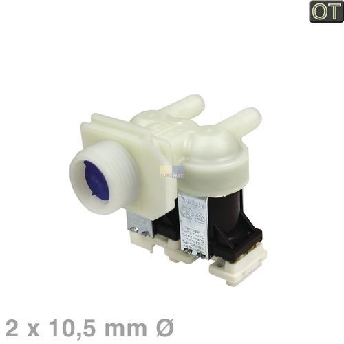 Magnetventil 2-fach 180° 10,5mm 00428211 428211 Bosch, Siemens, Neff