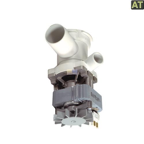 Ablaufpumpe wie Bosch 00140470 GRE mit Pumpenkopf und Sieb für Waschmaschine