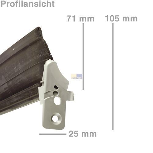 Türdichtung 1-seitig unten 00298534 298534 Bosch, Siemens, Neff, Küppersbusch