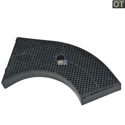 Kohlefilter Whirlpool 481281718533 AMC859 Typ10 Wpro 265x150mm