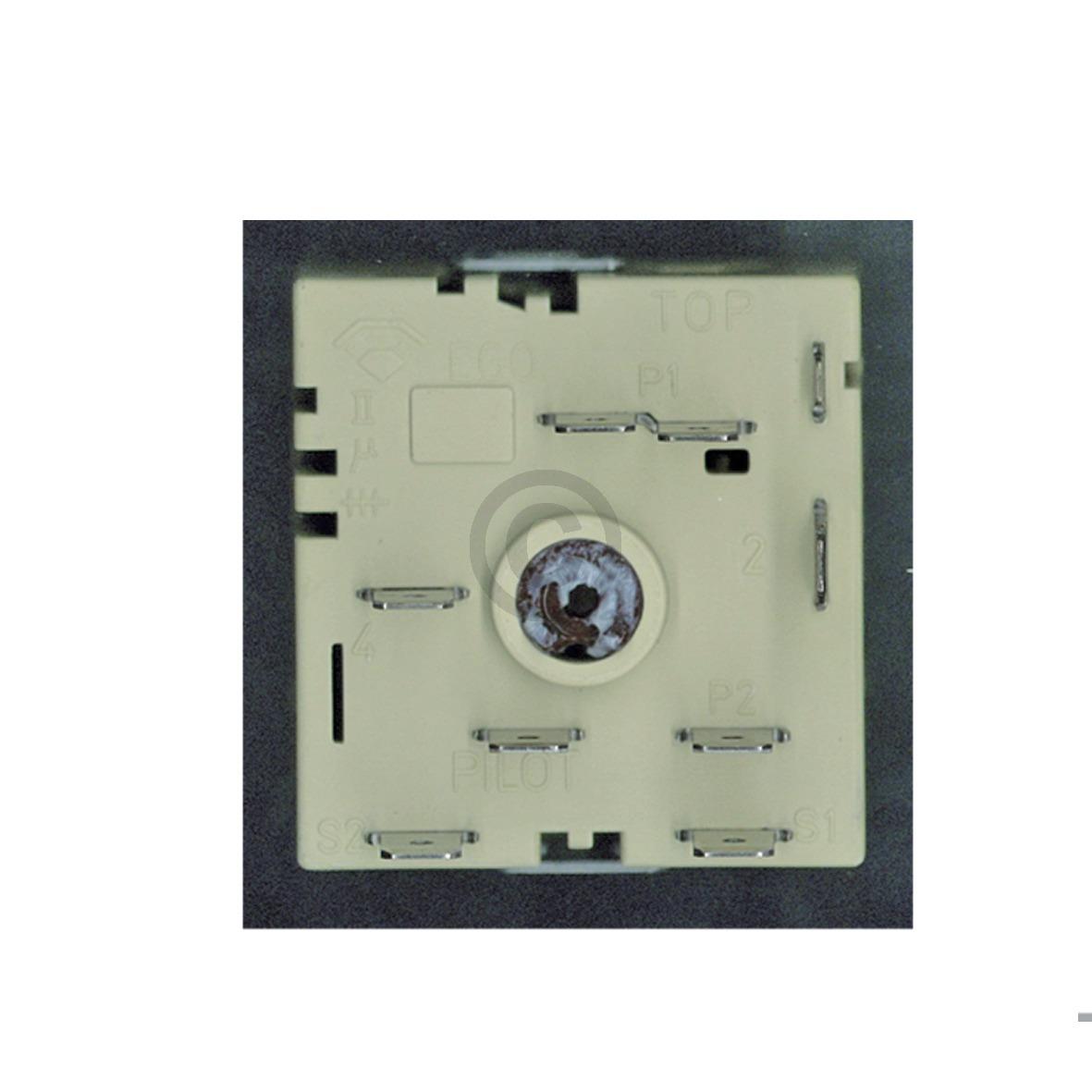 Kochplattenschalter EGO 50.55021.100 Zweikreis, OT! Umbausatz 00605922 605922