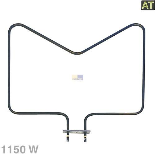 Heizelement Unterhitze 1150W, AT! 480121100591 Bauknecht, Whirlpool, Ikea