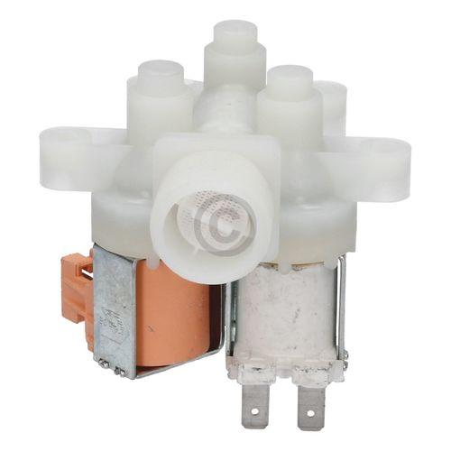 Magnetventil wie AEG 407136019/4 dreifach 90° 10,5mmØ für Waschmaschine